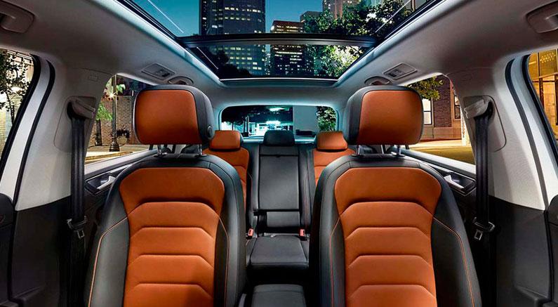 Confort del nuevo Volkswagen Tiguan