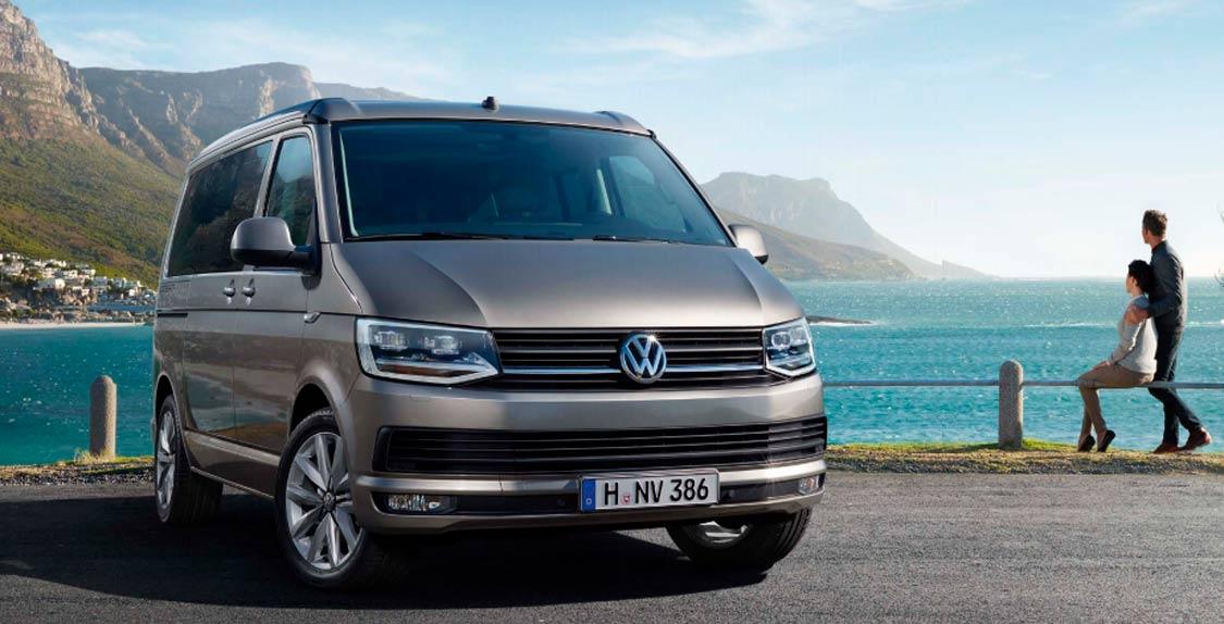 La Volkswagen California está disponible en Sartopina Zaragoza