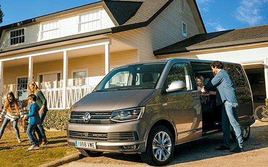 La Volkswagen Caravelle disponible