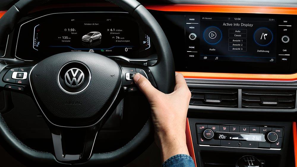 Pantalla de alta resolución del cuadro de mandos Digital Cockpit