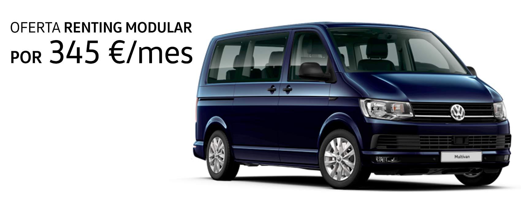 Oferta Multivan con renting modular en Sartopina
