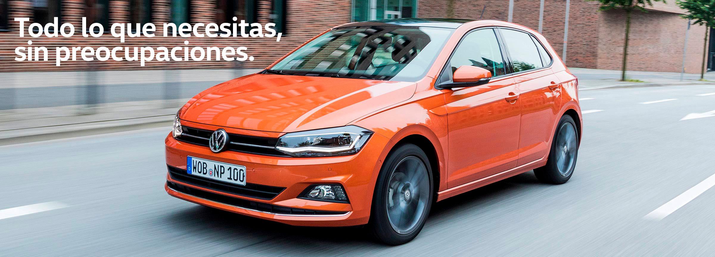 Descubre el Volkswagen Polo con my renting en Sartopina