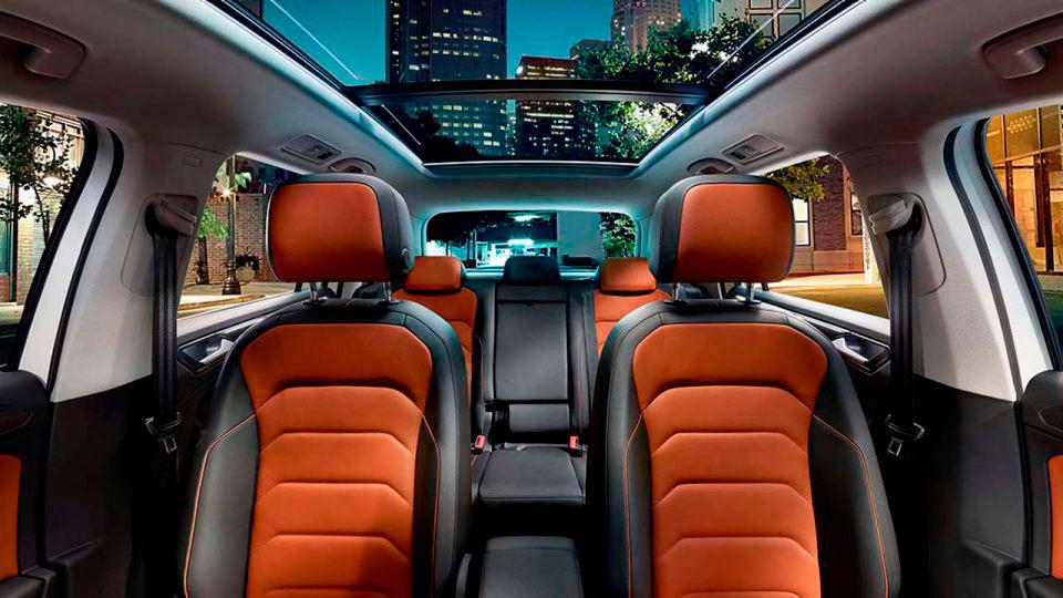 Descubre el interior del Volkswagen Tiguan