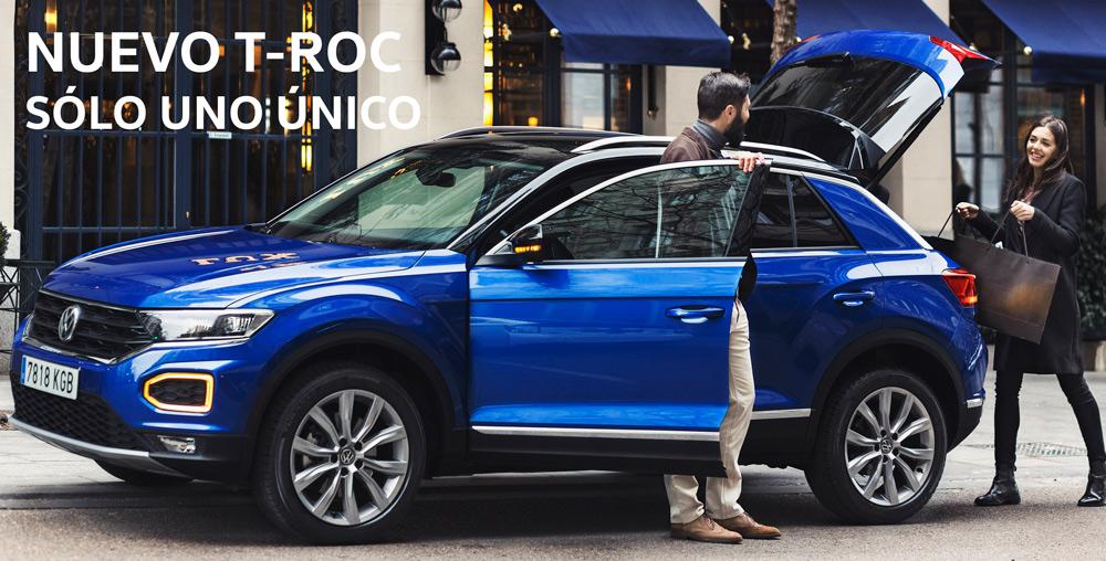 El nuevo Volkswagen T-ROC en sartopina comprar vehiculo nuevo