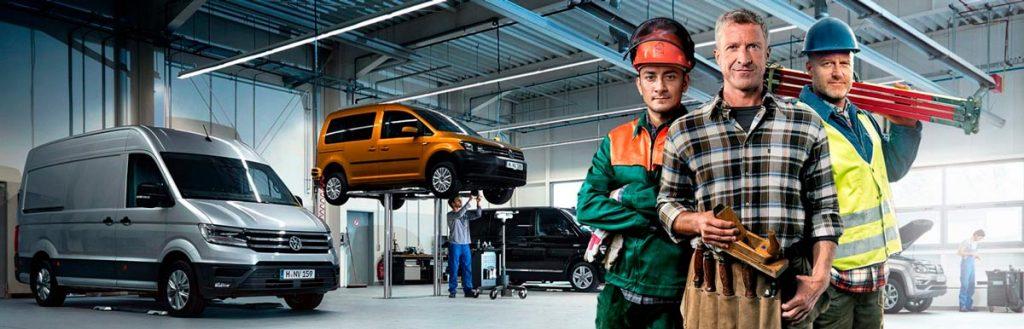 ServicePlus para vehículos comerciales Volkswagen