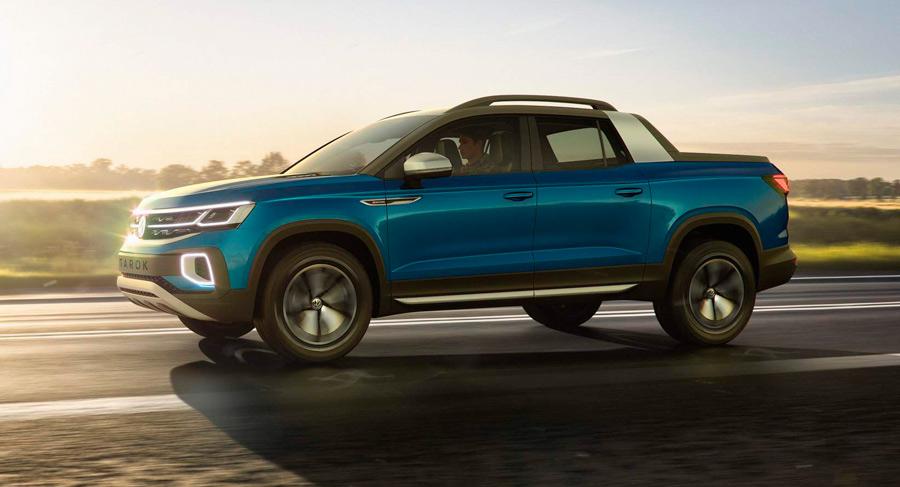 La nueva Pick-Up de Volkswagen, el Tarok
