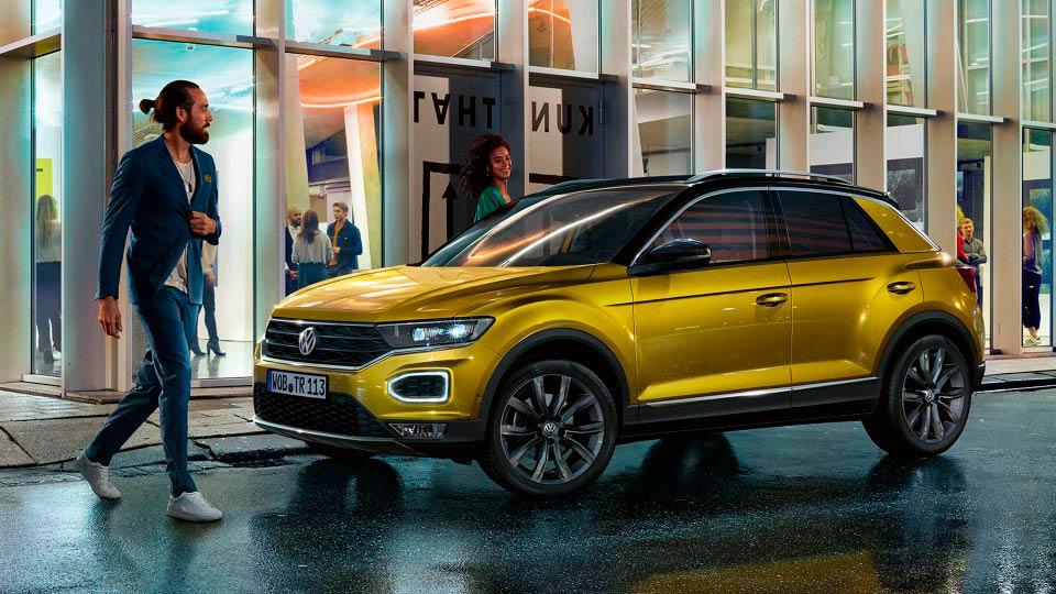 Volkswagen T-Roc vehículo nuevo en Zaragoza
