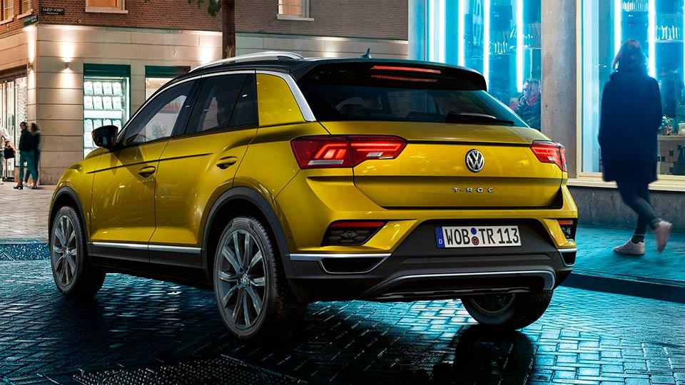 Volkswagen T-ROC comprar vehículo nuevo en Zaragoza
