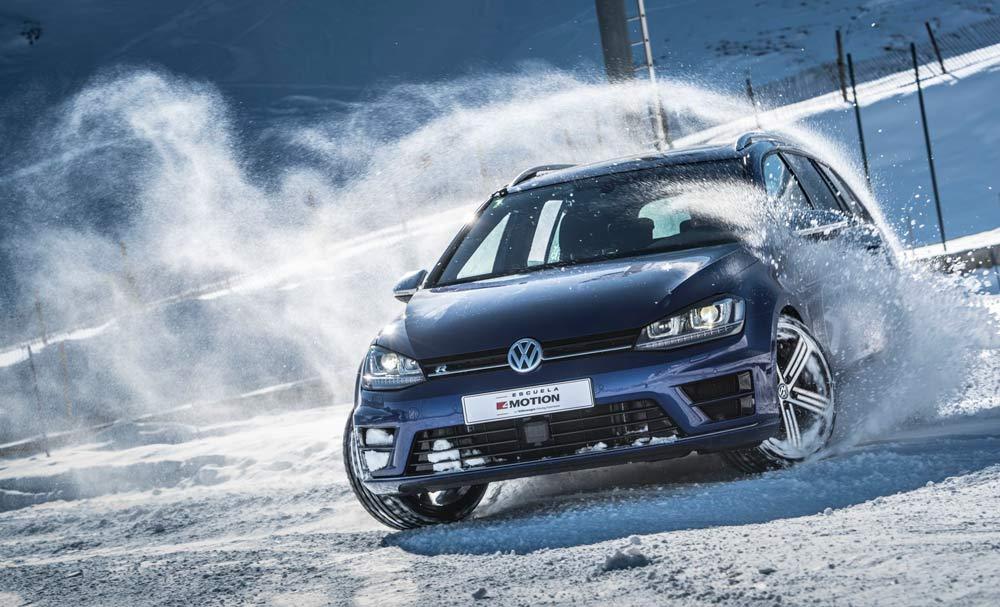 Consejos para conducir en nieve Volkswagen