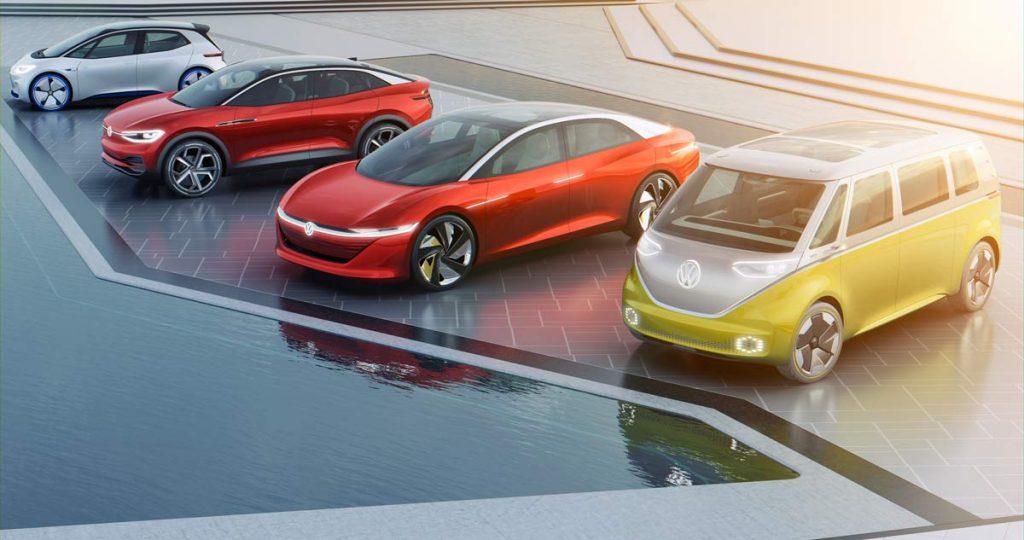 Vehículos eléctricos Volkswagen