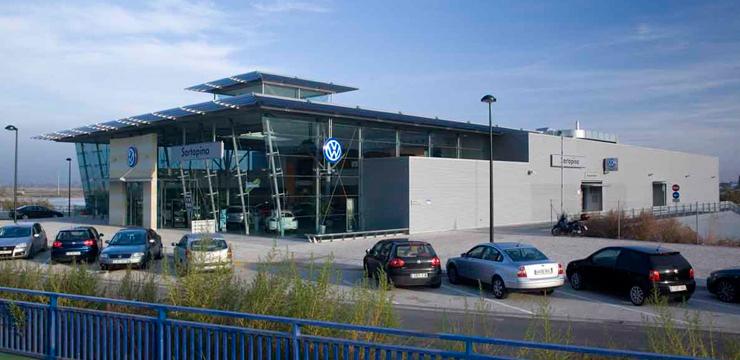 Sartopina, concesionario Volkswagen en Zaragoza