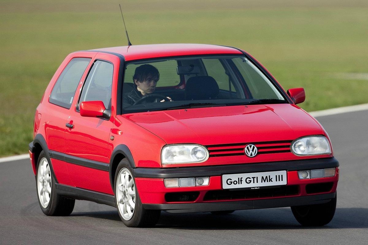 Volkswagen Golf tercera versión del mítico vehículo