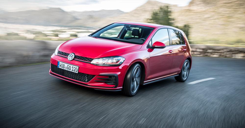Volkswagen Golf Zaragoza rojo