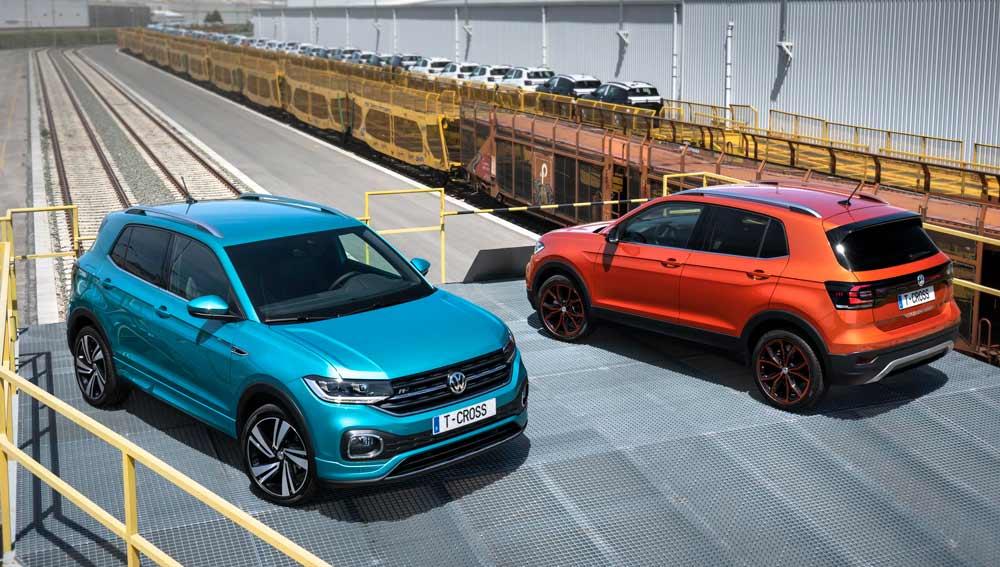Volkswagen TCROSS en zaragoza
