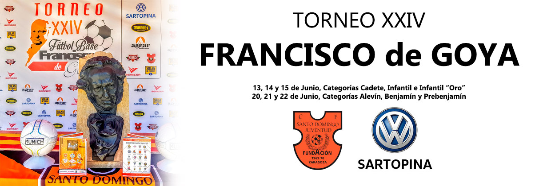 Francisco de Goya torneo futbol Sartopina