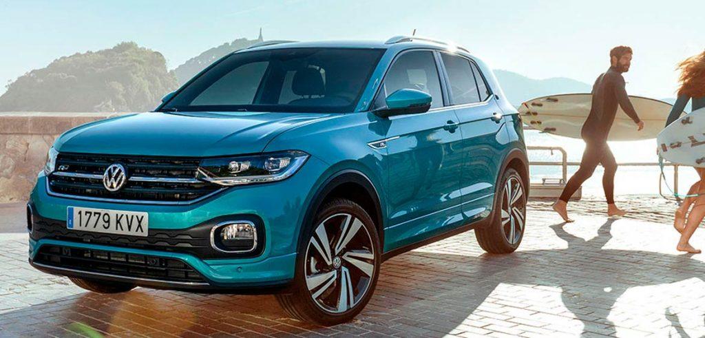 La prueba TCROSS Volkswagen Zaragoza