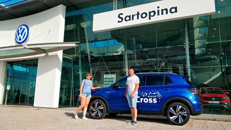 Volkswagen Tcross la prueba en Zaragoza