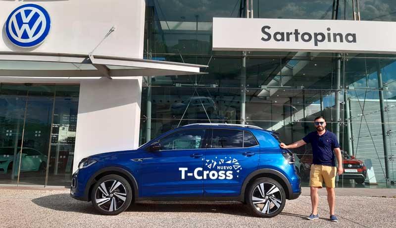 Volkswagen TCROSS Zaragoza la prueba