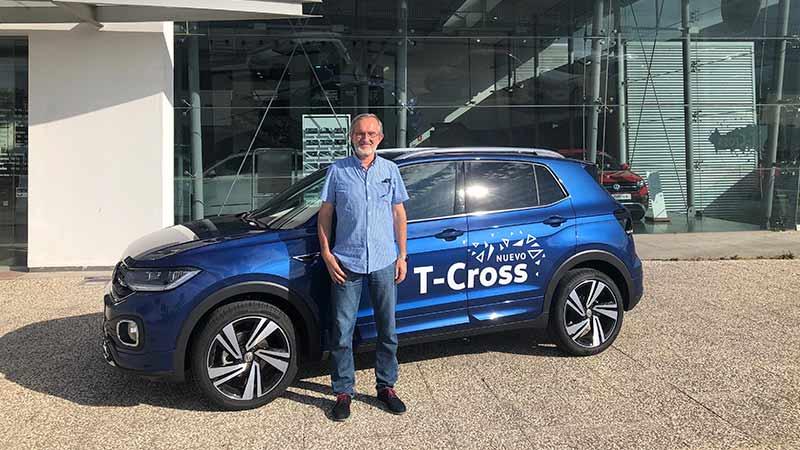 Volkswagen TCROSS Zaragoza prueba