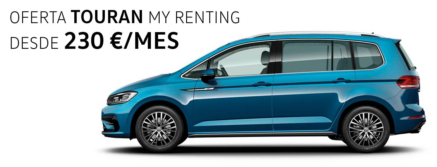 Volkswagen Touran Zaragoza renting