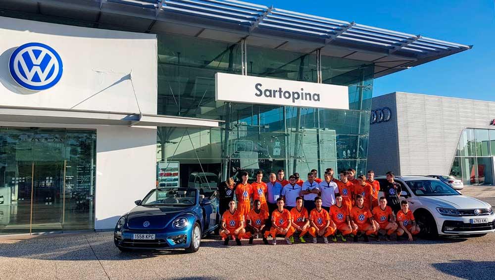 Volkswagen Sartopina Zaragoza futbol