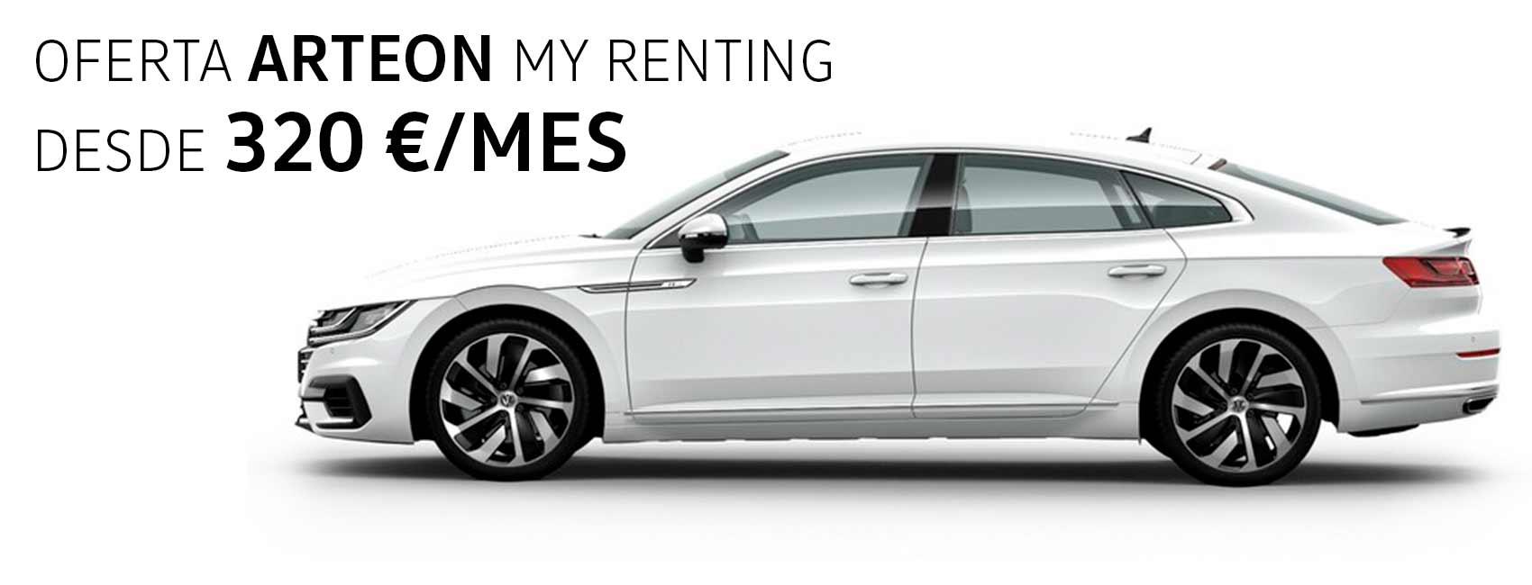 Volkswagen Arteon renting