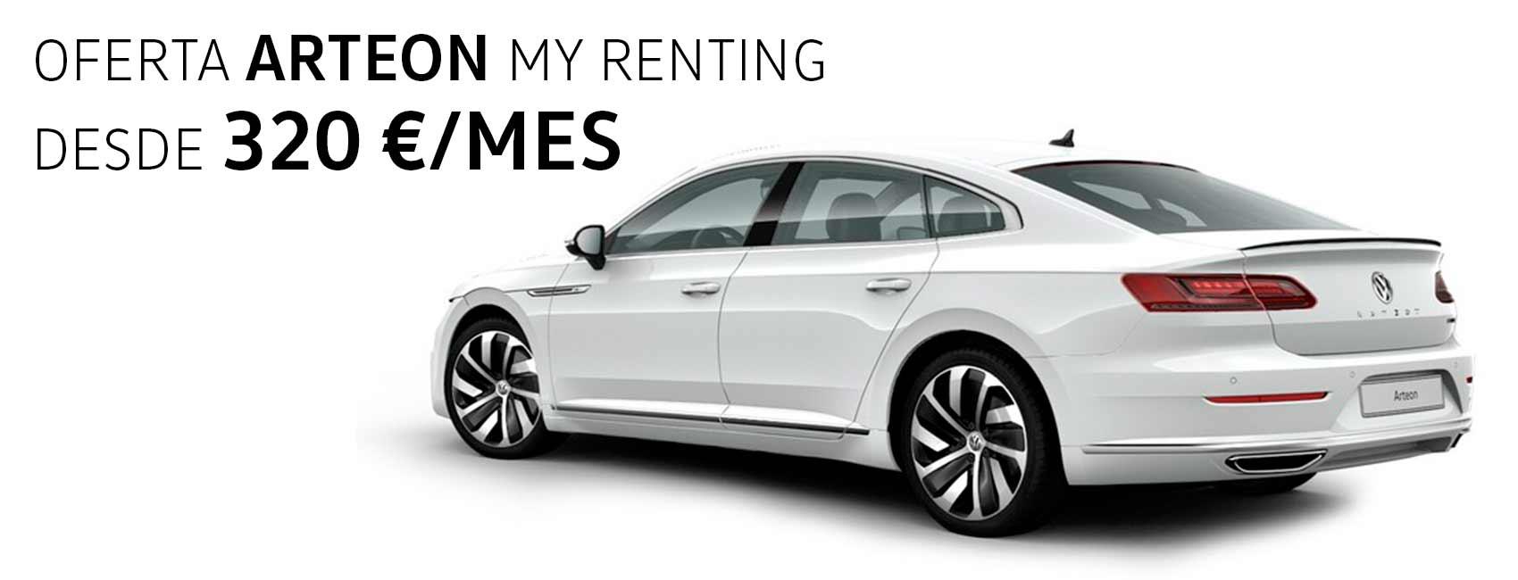 Renting Arteon volkswagen