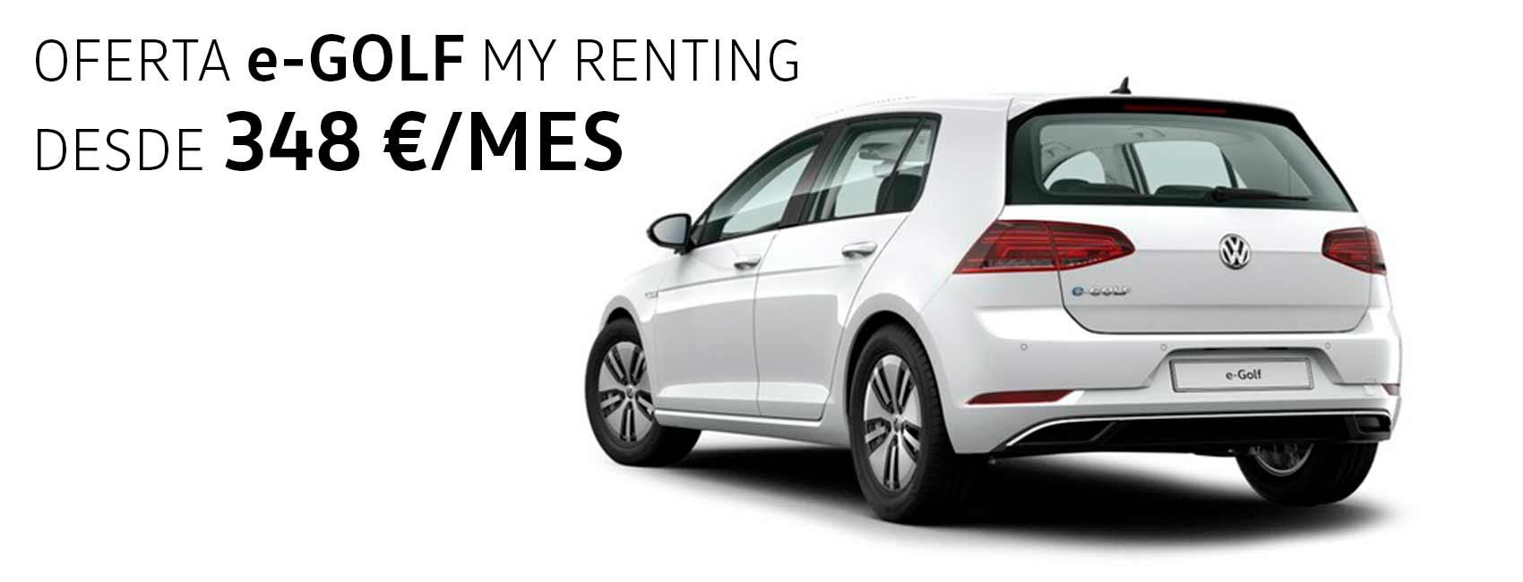 Volkswagen e-Golf 100% eléctrico