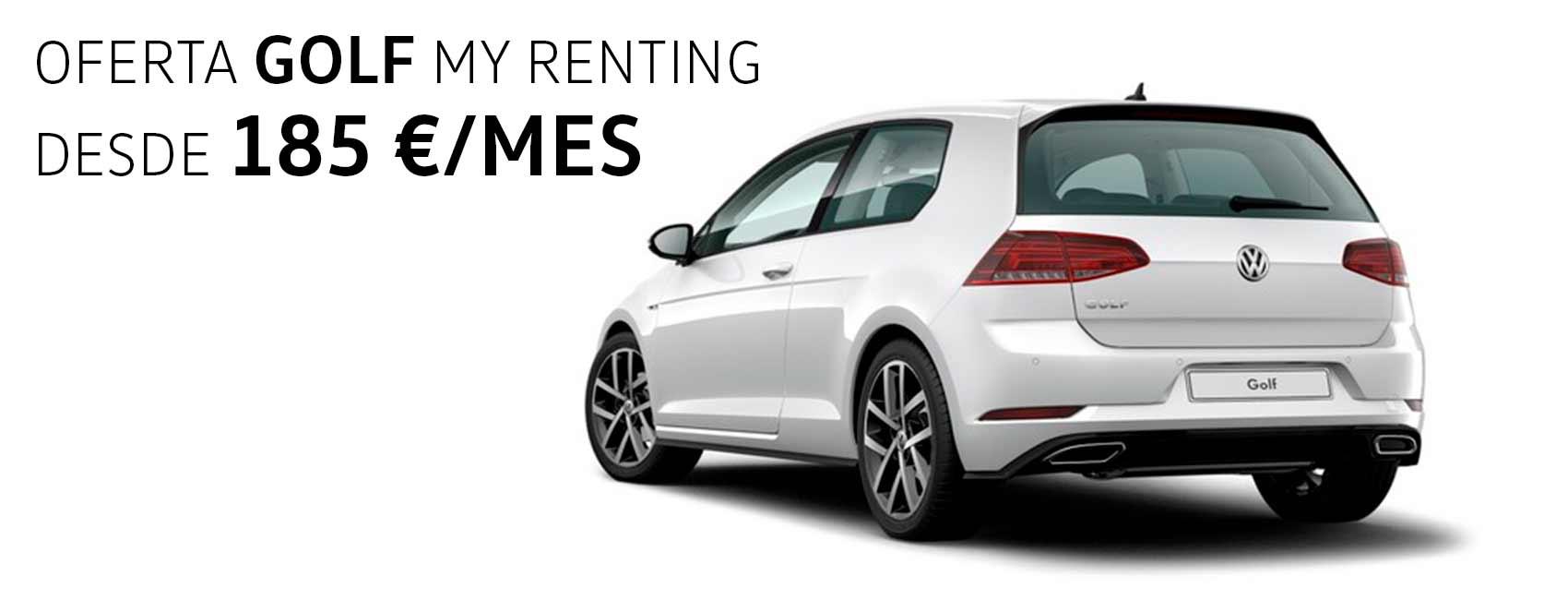 Volkswagen renting Zaragoza Golf