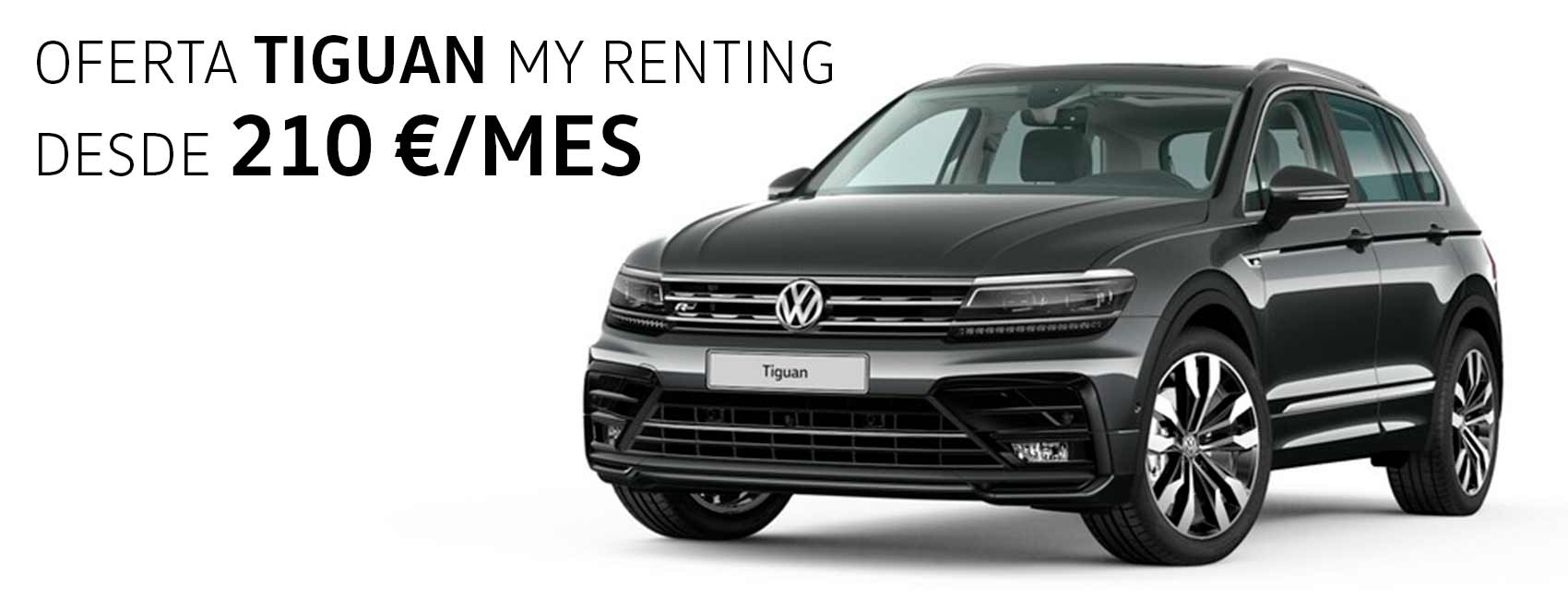 Volkswagen Tiguan renting Zaragoza