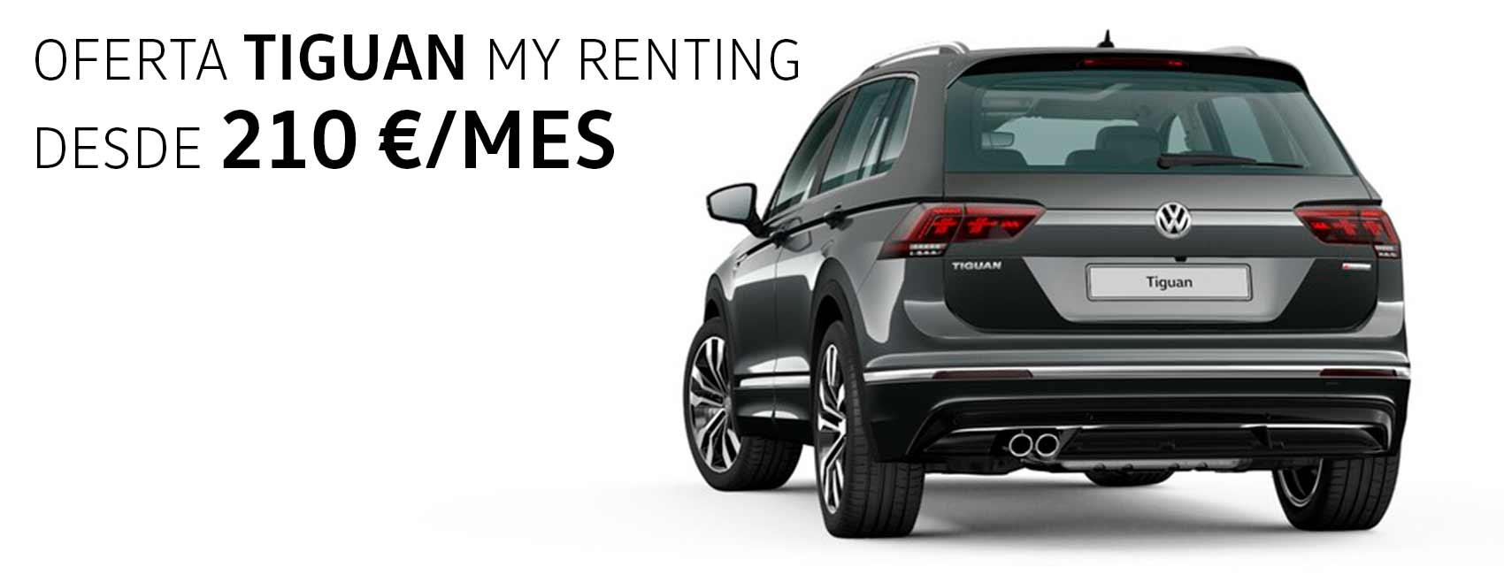 Tiguan renting Volkswagen zaragoza
