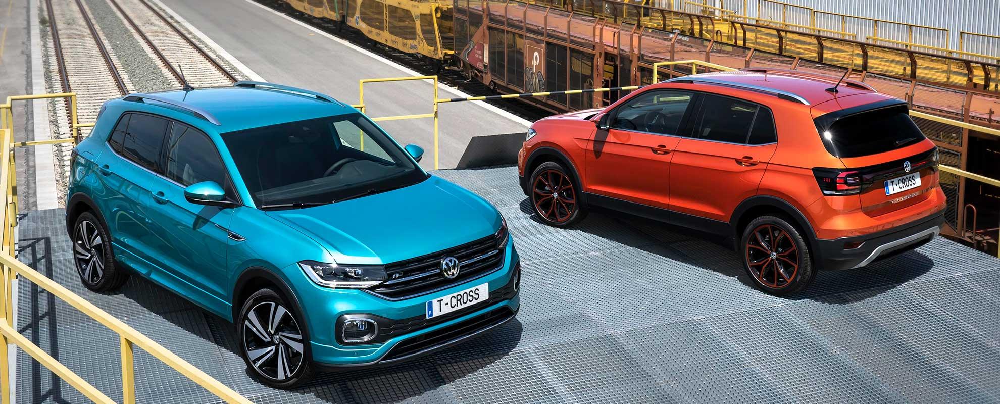 Volkswagen TCROSS zaragoza oferta