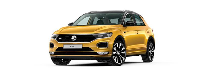 Volkswagen T-ROC renting Zaragoza