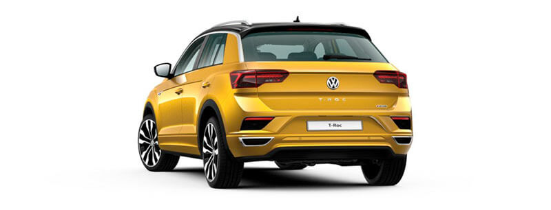 T-ROC Renting Zaragoza Volkswagen