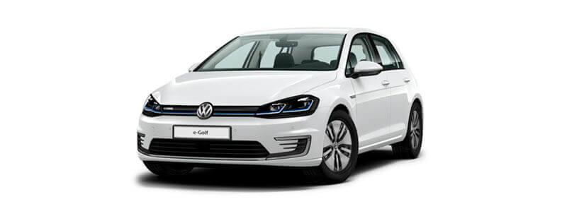 Volkswagen eGolf electrico renting