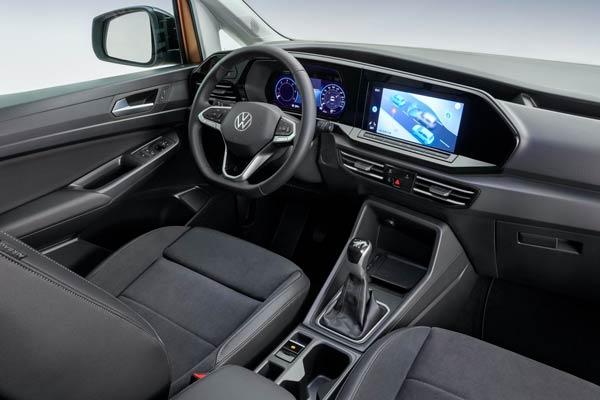 Interior volkswagen caddy 2021