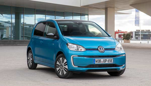 e-UP Volkswagen en zaragoza